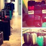 ¿Quién lleva 20 maletas para un fin de semana en Ibiza?. Sólo podría ser ella