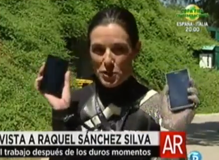 El dolor patrocinado de Raquel Sánchez Silva