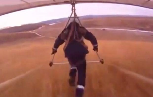 El hombre que pensó que podía volar con su ala delta