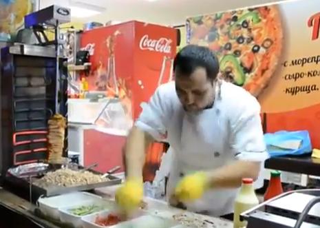 El maestro del kebab vive en Rusia