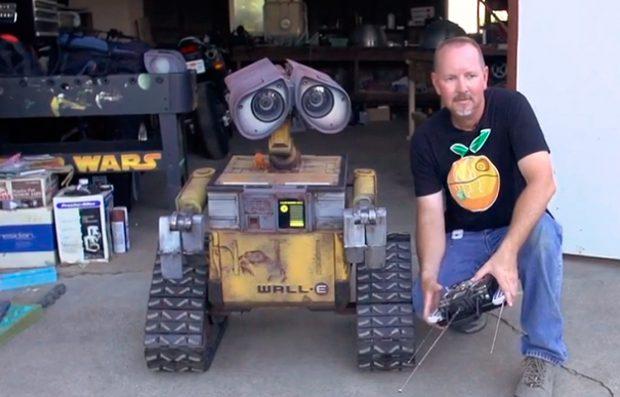 Wall-E en la vida real