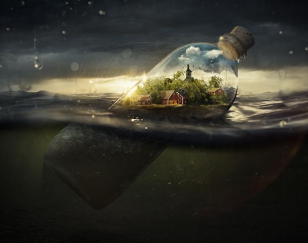''Drifting Away'', genial trabajo de Erik Johansson
