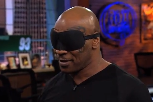 Mike Tyson te ganaría a los dardos con los ojos cerrados