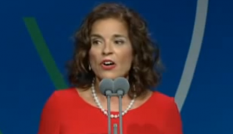 Ana Botella: ''Relaxing cup of café con leche in Plaza Mayor''