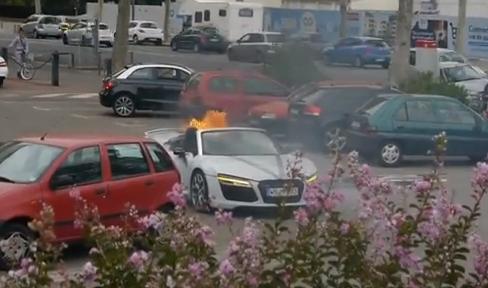 Vas con tu Audi R8 Spyder a una boda y ocurre esto...