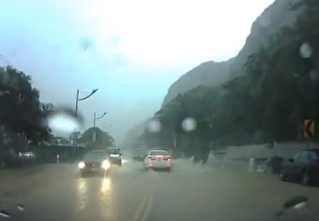 Desprendimiento de roca en Taiwán