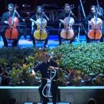 Imagina que vas a un concierto y la mitad de los músicos aparecen entre el público