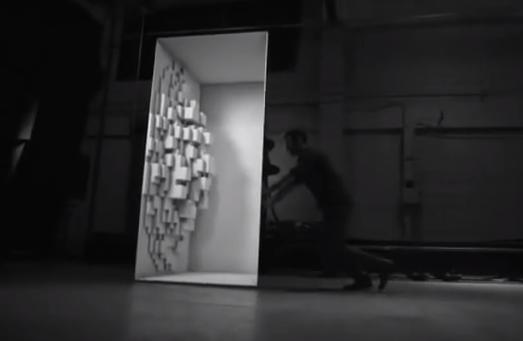 Proyección de imágenes sobre objetos en movimiento (increíble efecto)