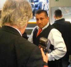 Revisor de tren alemán gasea a un pasajero sin billete