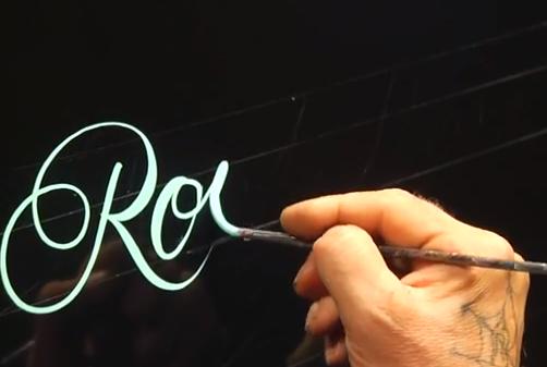Glen Weisgerber, todo un maestro de la caligrafía