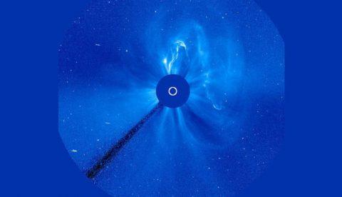 Un 'gusano' gigante de plasma solar se acerca a la Tierra