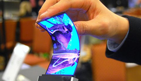 ¿Un smarphone con pantalla flexible?. Mira...