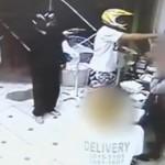 Policías brasileños disparan contra dos ladrones que estaban robando una pizzería