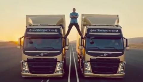 El secreto del anuncio de Van Damme para Volvo. Así se hizo