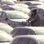El casco para bicicleta invisible. Invento creado por estudiantes suecas