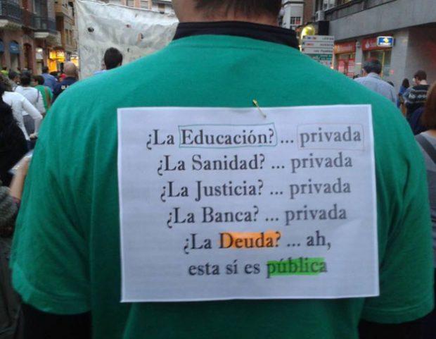 La deuda sí que es pública
