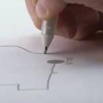 Rotulador que te permite dibujar circuitos eléctricos sobre el papel