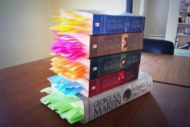 Cada muerte de Juego de Tronos marcada en los libros