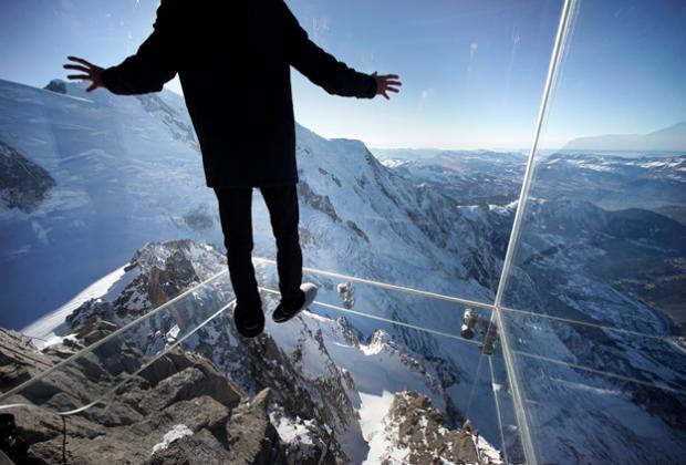 Chamonix Skywalk, estructura de cristal sobre los alpes franceses