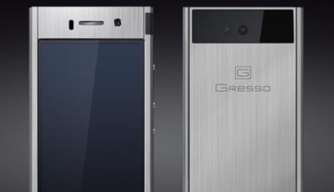 Un smartphone fabricado en titanio. Si, en titanio