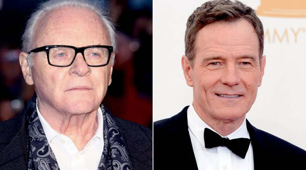 La increíble carta de Anthony Hopkins al actor de Breaking Bad