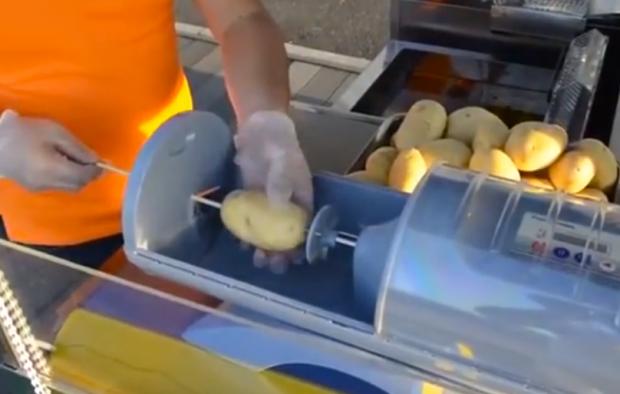 Una patata y un palo...