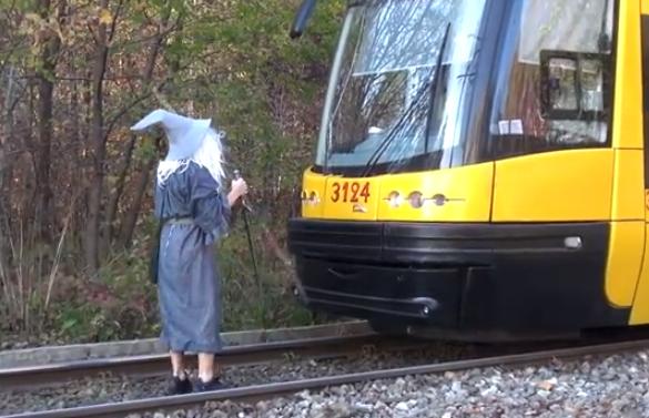 Gandalf detiene un tren y cabrea al maquinista