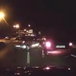 Pánico en la M-30: Conductor cambia de sentido en mitad de la carretera