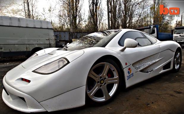Se construye su propio McLaren F1