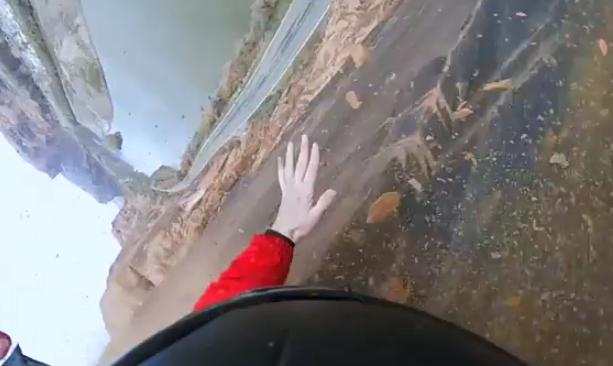 Vídeo en primera persona del accidente de un hombre que practicaba salto BASE