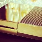 Adivina quién ha puesto a la venta una Xbox One de oro. Si, de oro