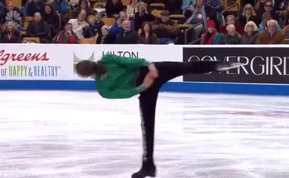 Jason Brown, el patinador que seduce al hielo