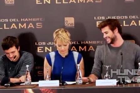 A Jennifer Lawrence no se le da muy bien abrir cajas de caramelos