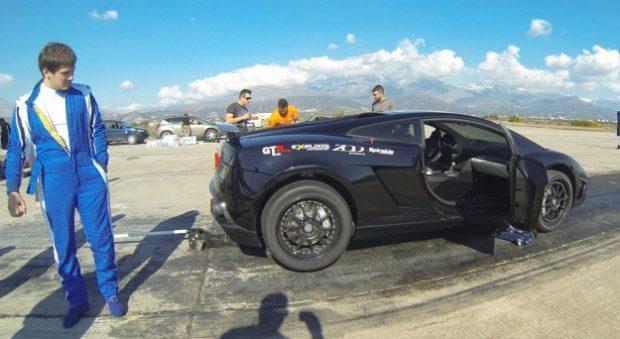 Lamborghini Gallardo Nera rompe un récord de velocidad