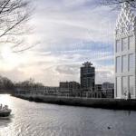 Mira como se está construyendo esta casa en Holanda