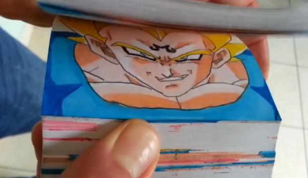 Dragon Ball Z Flipbook - Episodio 6