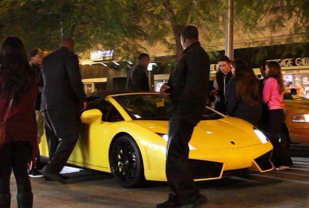 Vídeo del arresto de Justin Bieber en Miami Beach mientras que circulaba en un Lamborghini