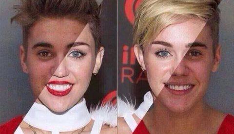 La prueba de que Justin Bieber y Miley Cyrus son la misma persona