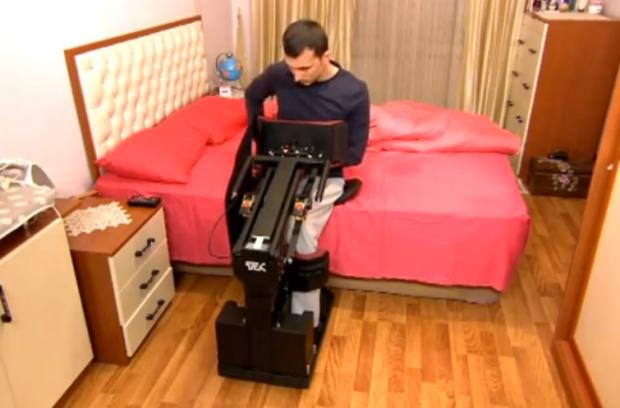 Así serán las sillas de ruedas del futuro, con la posibilidad de levantarte cuando quieras