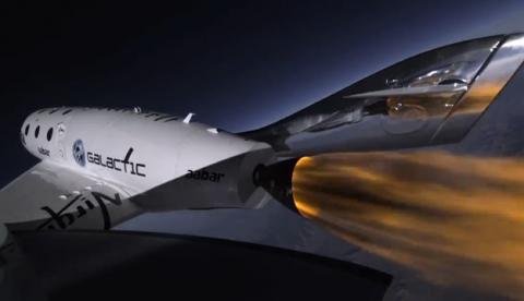 Avión SpaceShipTwo de Virgin Galactic: de Londres a Sidney en dos horas y media