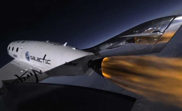 Avión SpaceShipTwo de Virgin Galactic: de Londres a Sidney en dos horas y media