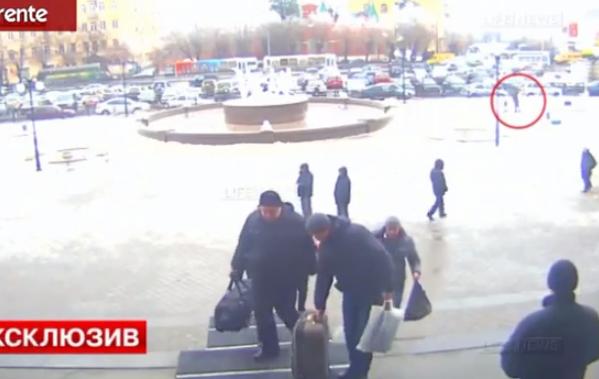 Imágenes del terrorista de Volgogrado antes de inmolarse (Vídeo)