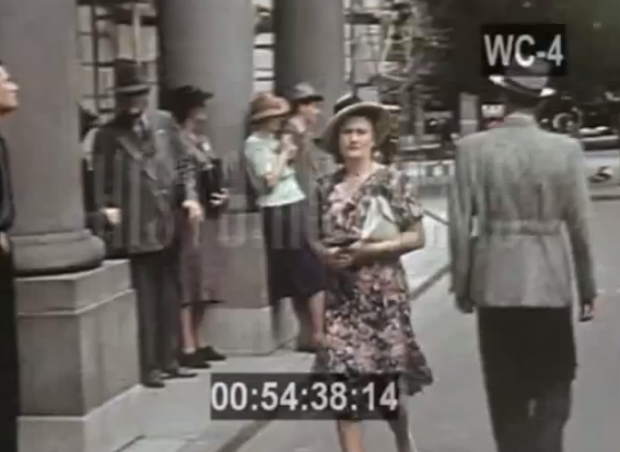 Varsovia en el año 1938 (vídeo en color)