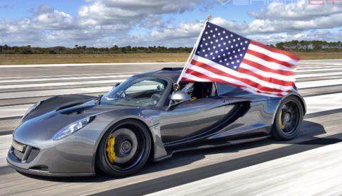 El nuevo coche más rápido del mundo: Hennessey Venom GT a 435.31 km/h