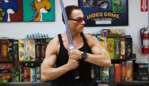 Y por eso Jean-Claude Van Damme ya no hace películas...
