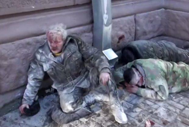 El Berkut ucraniano interviene en las protestas ciudadanas (Imágenes duras)
