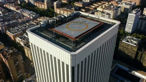 Madrid Aerial Demo