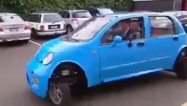 El coche definitivo, se acabaron los problemas para aparcar