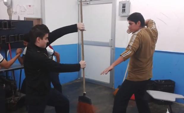 Todo un maestro del karate
