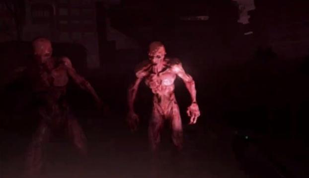 Este abuelo se queda sin munición y se defiende de los zombies a manotazos